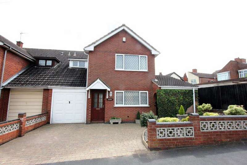 3 Bedrooms Semi Detached House for sale in Bowling Green Road, Hinckley