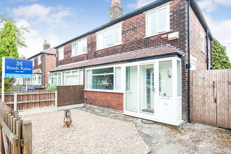 3 Bedrooms Semi Detached House for sale in Wordsworth Road, Reddish, Stockport, SK5