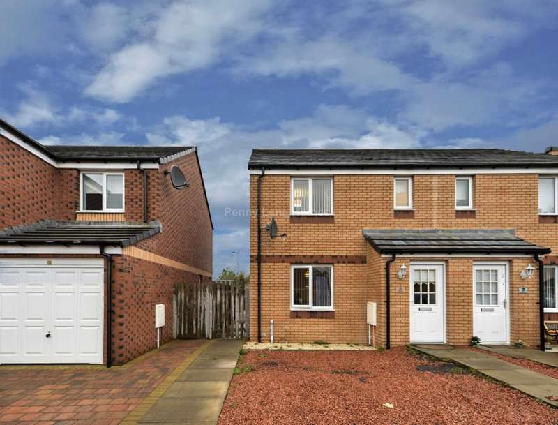 3 Bedrooms Semi Detached House for sale in Hillhead Crescent, Linwood, Paisley