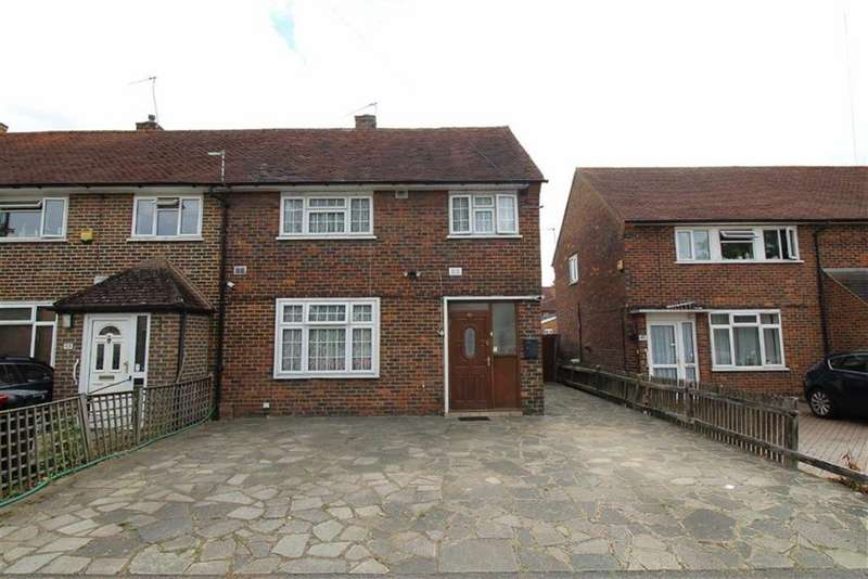 3 Bedrooms End Of Terrace House for sale in Ryvers Road, Langley, Berkshire