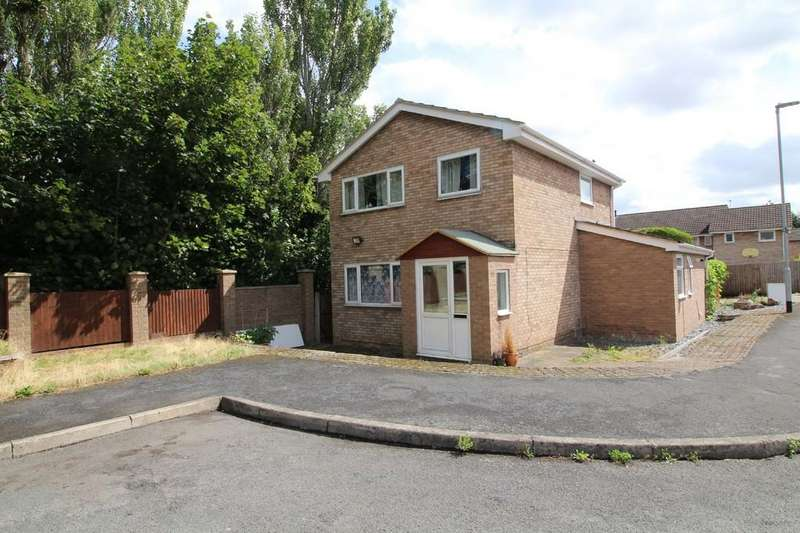 3 Bedrooms Detached House for sale in Wilmington Court, Loughborough