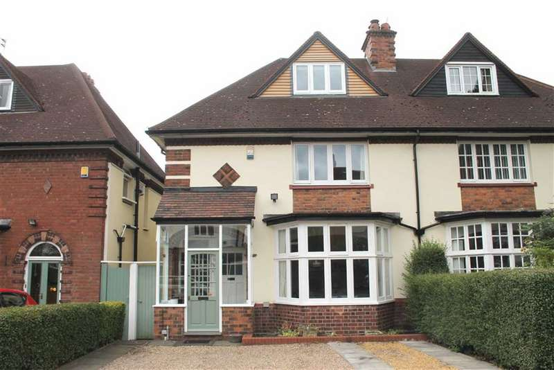 4 Bedrooms Semi Detached House for sale in Wentworth Road, Harborne
