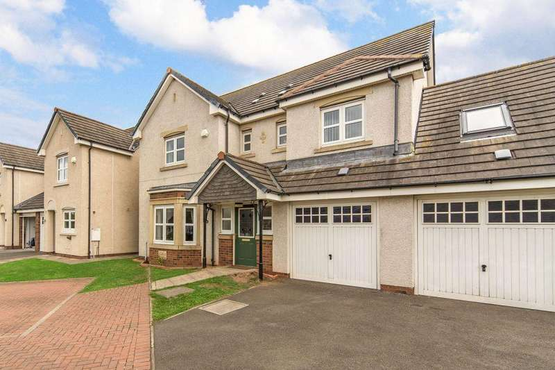 4 Bedrooms Detached House for sale in 56 Kellie Place, Dunbar, EH42 1GF