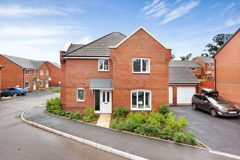 4 Bedrooms Detached House for sale in Rackenford Meadows Area