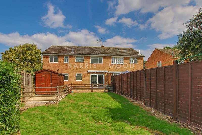 4 Bedrooms Semi Detached House for sale in Stanfield Close, Stanway, Colchester, CO3