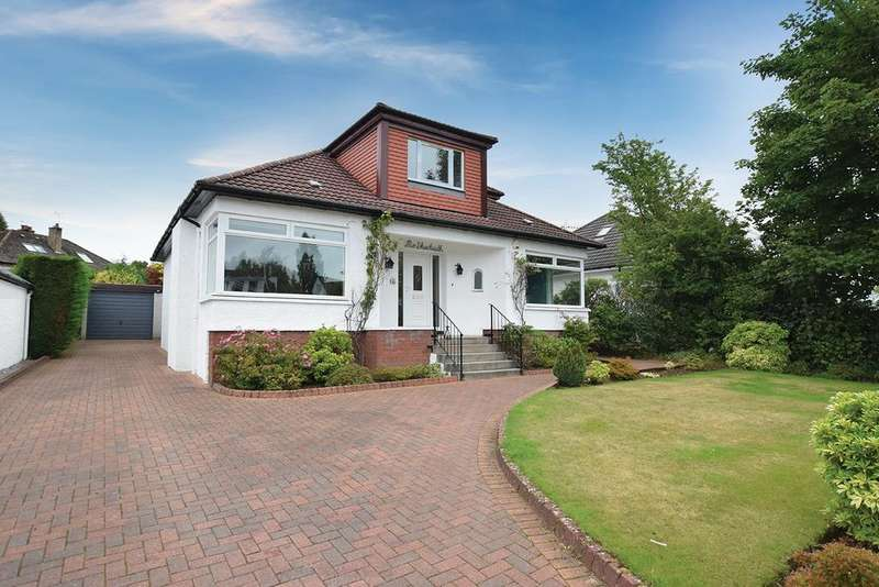 4 Bedrooms Detached Bungalow for sale in 65 Campsie Drive, Milngavie, G62 8HR