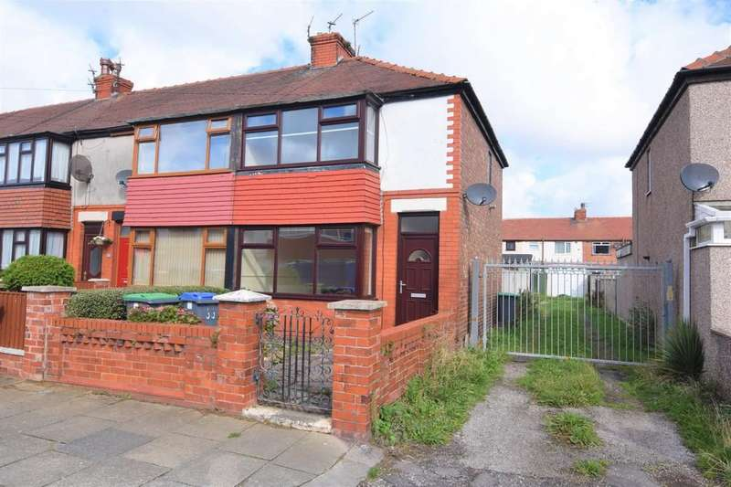 2 Bedrooms End Of Terrace House for sale in Willowbank Avenue, Blackpool