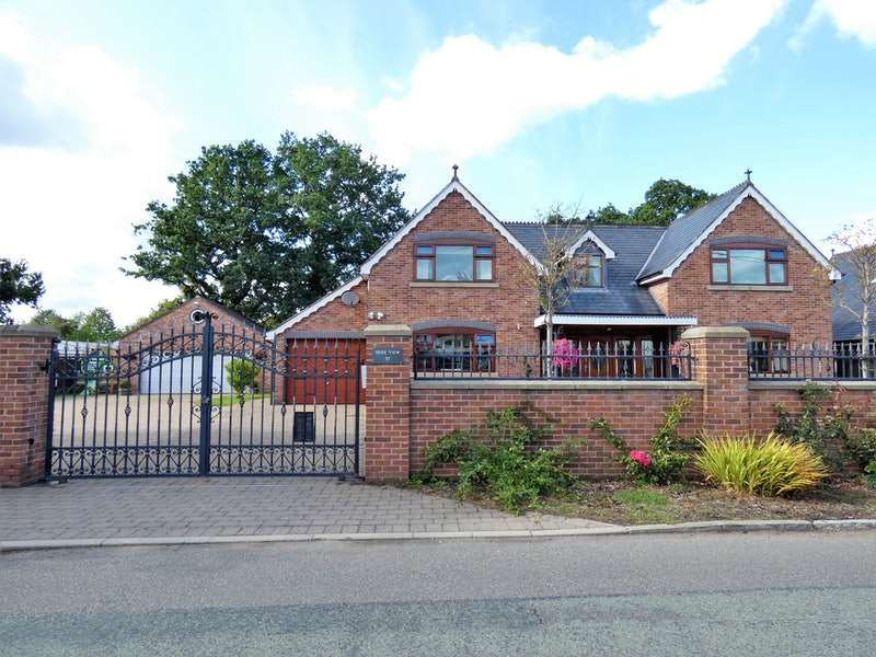 4 Bedrooms Detached House for sale in Pickmere Lane, Northwich, Cheshire, CW9