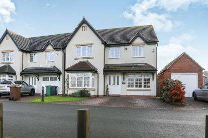 4 Bedrooms Detached House for sale in The Green, Castle Bromwich, Birmingham
