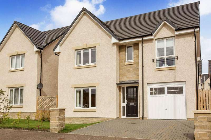 4 Bedrooms Detached House for sale in 16 Castell Maynes Avenue, Bonnyrigg, EH19 3RW