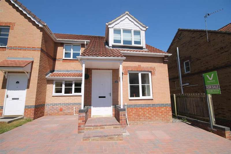 3 Bedrooms Semi Detached House for sale in Dickens Way, Crook