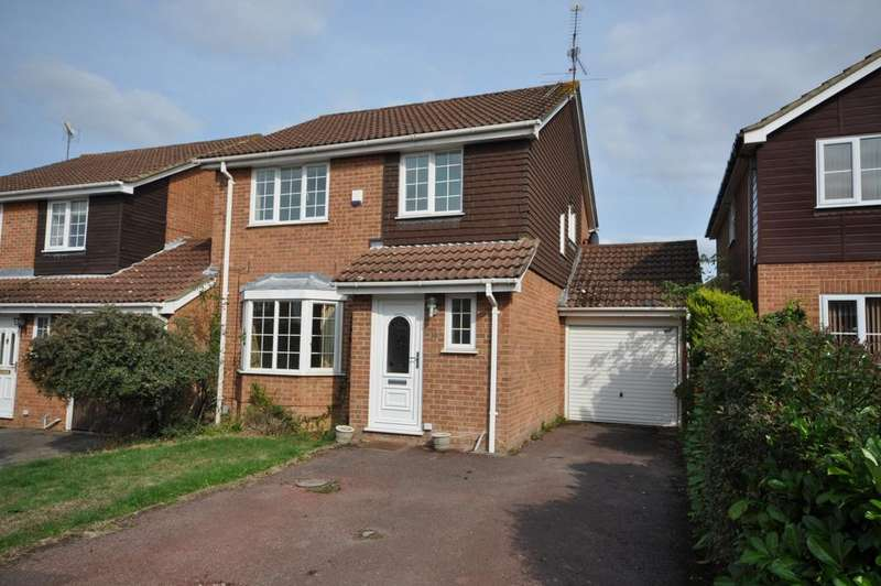 3 Bedrooms Link Detached House for sale in Cassia Drive, Lower Earley, Reading