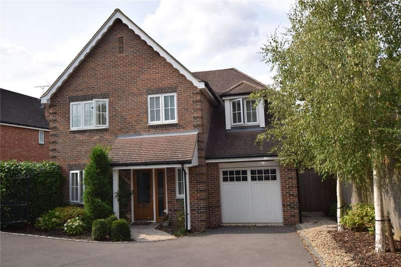 4 Bedrooms Detached House for sale in Coopers Place, Burghfield Common, Reading, Berkshire, RG7