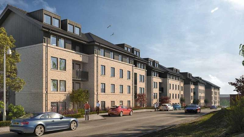 2 Bedrooms Flat for sale in Bishopbriggs Apartments, Bishopbriggs, East Dunbartonshire, G64 1QT