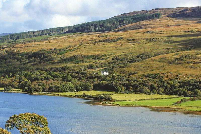 4 Bedrooms Detached House for sale in Loch Riddon House, Colintraive, Argyll and Bute