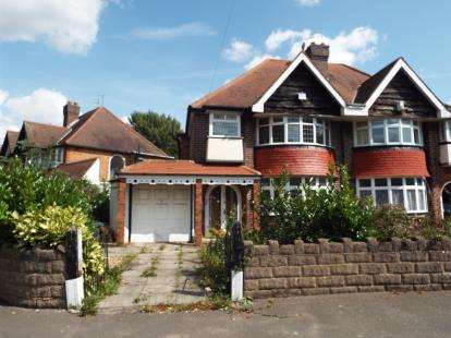 3 Bedrooms Semi Detached House for sale in Fox Hollies Road, Acocks Green, Birmingham, West Midlands