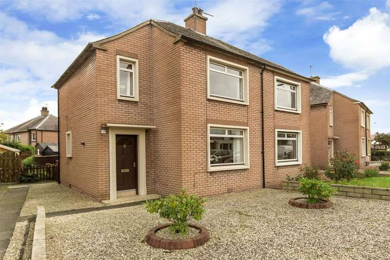 3 Bedrooms Semi Detached House for sale in 17 Kersiebank Avenue, Grangemouth, FK3