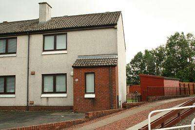 2 Bedrooms Semi Detached House for sale in Glenaylmer Road, Kelloholm, Sanquhar DG4