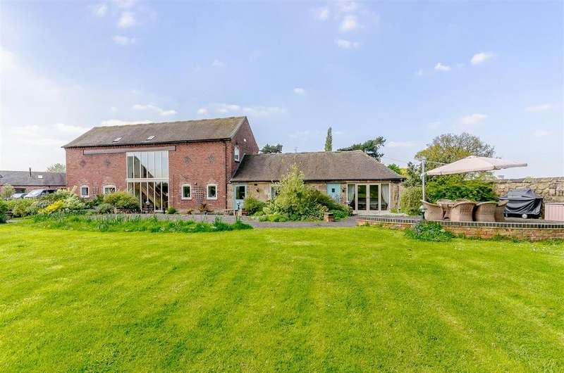 4 Bedrooms House for sale in Poplars Farm, Twyford Road, Barrow-On-Trent, Derby