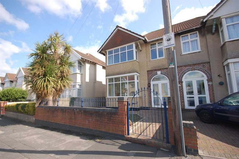 3 Bedrooms Semi Detached House for sale in Holdenhurst Road, Kingswood, Bristol, BS15 1HL