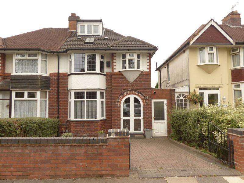 4 Bedrooms Semi Detached House for sale in Kings Road, Great Barr, Birmingham