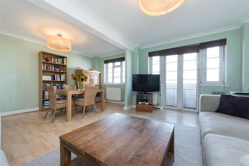 2 Bedrooms Flat for sale in Ashford Court, Ashford Road, London, NW2