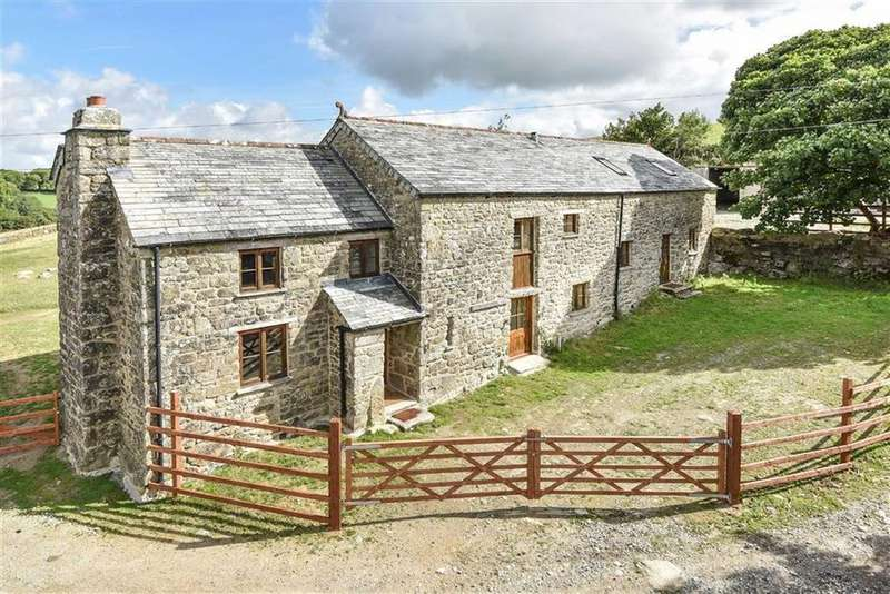4 Bedrooms Detached House for sale in Temple, Bodmin, Cornwall, PL30