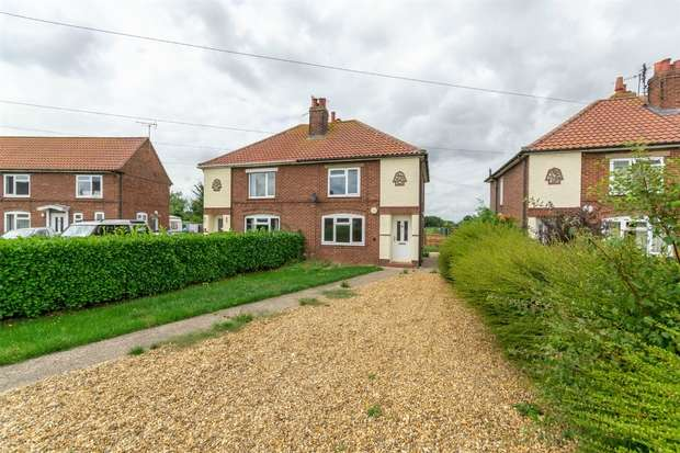 3 Bedrooms Semi Detached House for sale in 67 Mount Pleasant, Little Walsingham