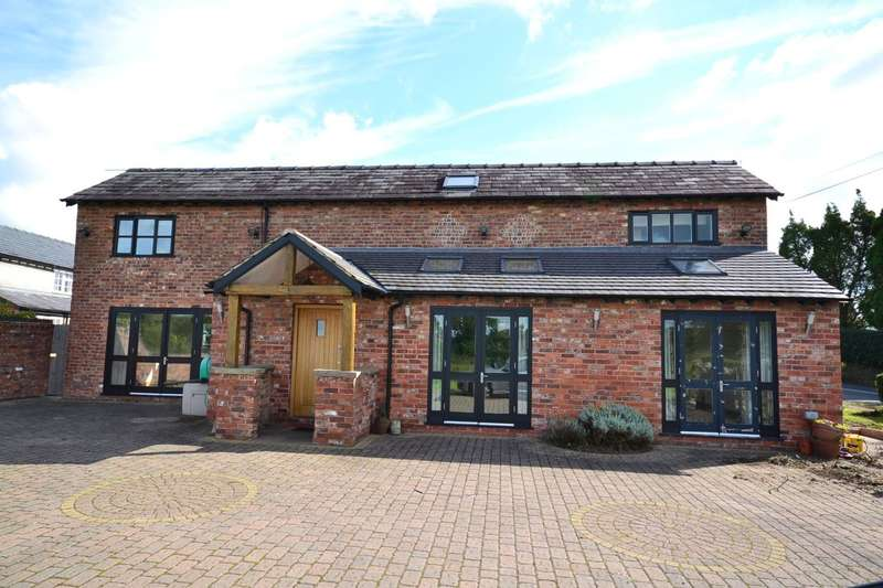 3 Bedrooms Barn Conversion Character Property for sale in Ivy Barn, Salters Lane, Lower Withington, Macclesfield, SK11