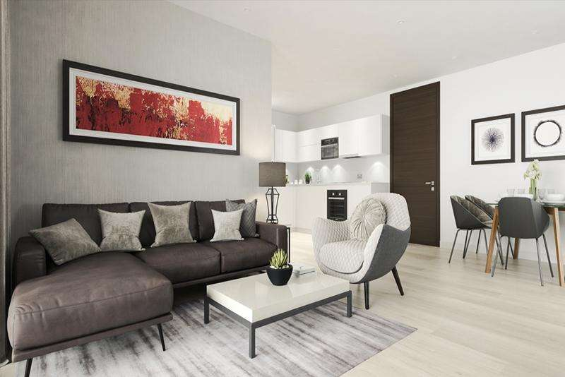 1 Bedroom Flat for sale in Liberty Building, Canary Wharf, Isle Of Dogs E14