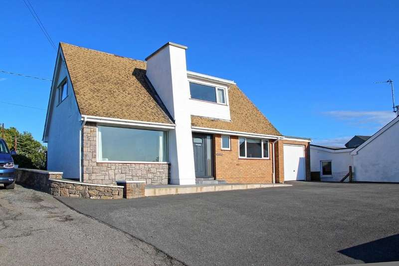 3 Bedrooms Detached Bungalow for sale in Rhostrehwfa, Llangefni, North Wales