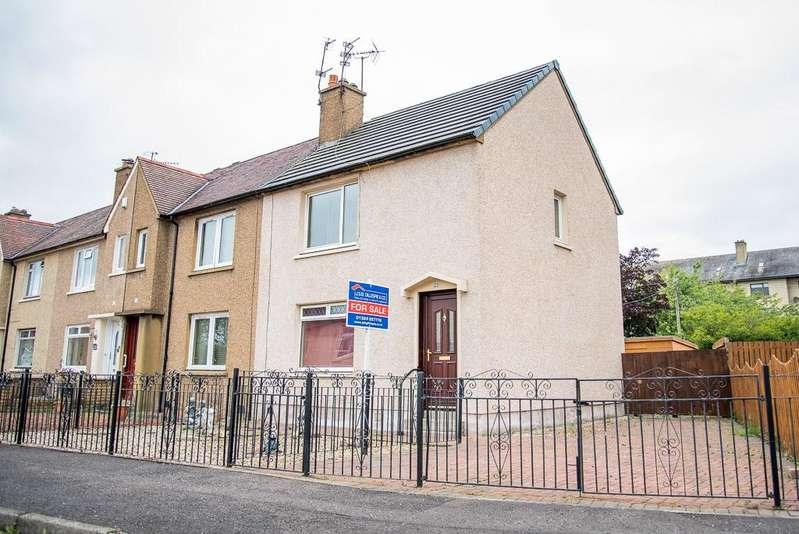2 Bedrooms End Of Terrace House for sale in 22 Waverley Crescent, Grangemouth, Falkirk, Stirlingshire FK3 8RB