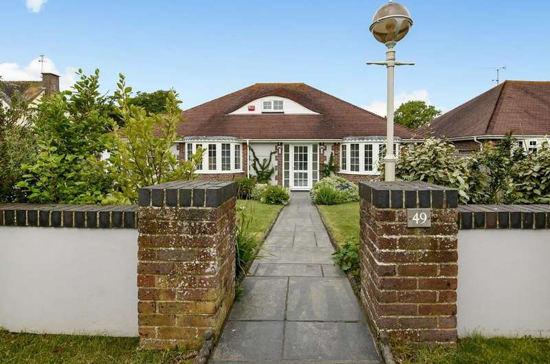 3 Bedrooms Detached Bungalow for sale in The Drive, Aldwick, PO21