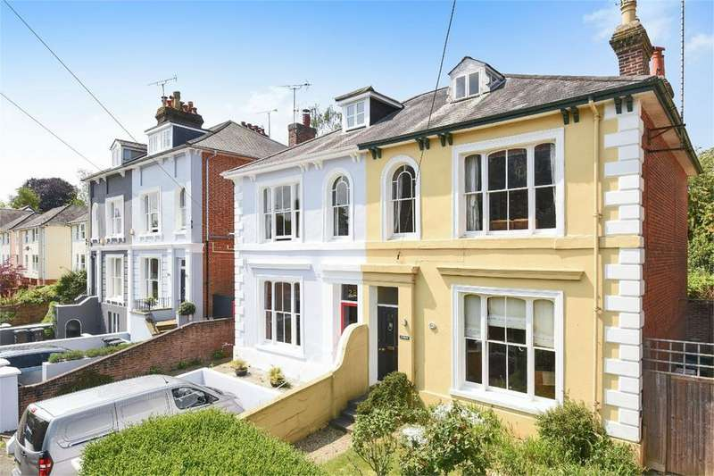 6 Bedrooms Semi Detached House for sale in Edgar Road, Winchester, Hampshire, SO23