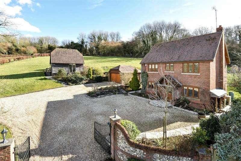 4 Bedrooms Detached House for sale in Whaddon Lane, Owslebury, Winchester, Hampshire, SO21
