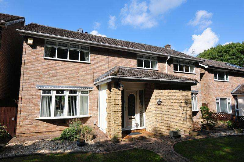 5 Bedrooms Detached House for sale in Bracton Drive, Whitchurch, Bristol, BS14