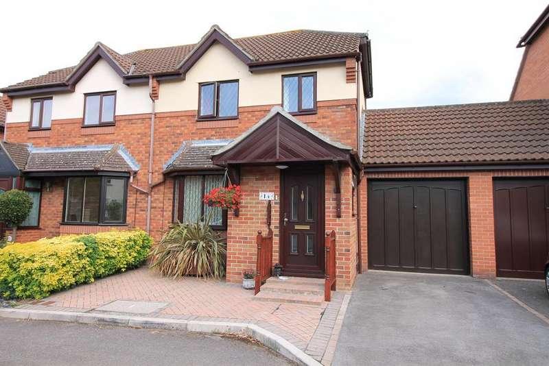 3 Bedrooms Semi Detached House for sale in Myrtle Gardens, Yatton, Bristol, BS49 4BA