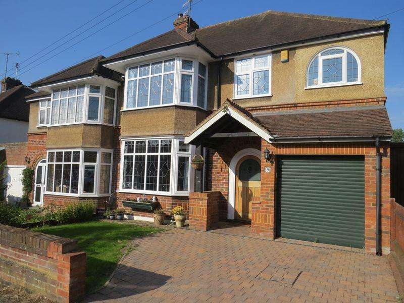 4 Bedrooms Semi Detached House for sale in Marston Gardens, Luton