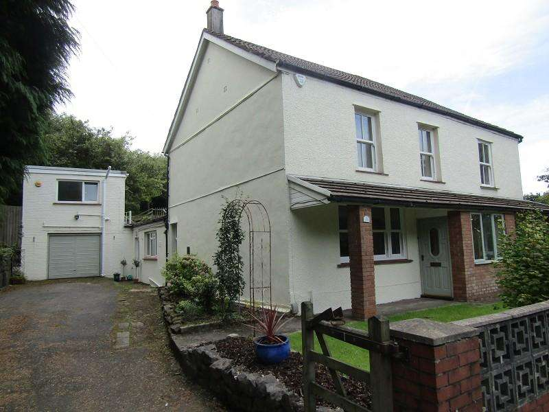 4 Bedrooms Detached House for sale in Llangyfelach Road, Tirdeunaw, Swansea, City And County of Swansea.