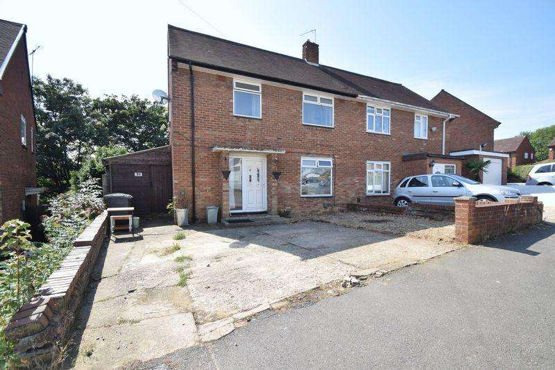 3 Bedrooms Semi Detached House for sale in Saltfield Crescent, Luton