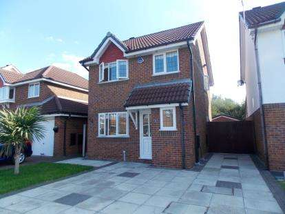 3 Bedrooms Detached House for sale in Lincoln Close, Woolston, Warrington, Cheshire