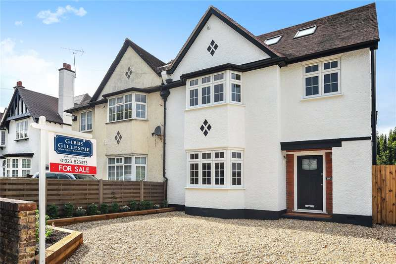 5 Bedrooms Semi Detached House for sale in Pinner Road, Watford, WD19