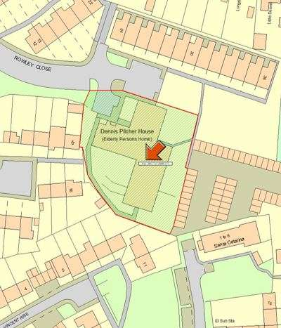 Land Commercial for sale in FORMER DENNIS PILCHER HOUSE,ROWLEY CLOSE,BRACKNELL,RG24 9TP, Rowley Close, Bracknell