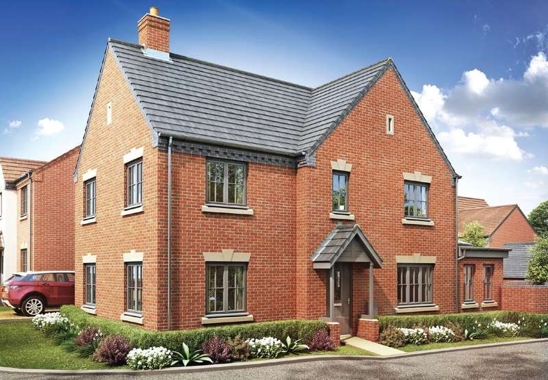 4 Bedrooms Detached House for sale in Plot 214 The Penfold, Oakley Grove