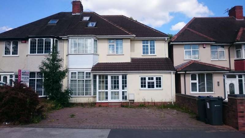 6 Bedrooms Semi Detached House for sale in Walsall Road, Great Barr, Birmingham B42