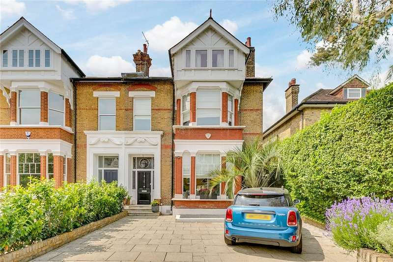 5 Bedrooms Semi Detached House for sale in Castelnau, Barnes, London
