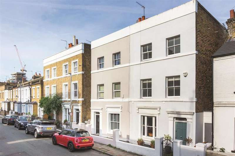 4 Bedrooms Terraced House for sale in Wadham Road, SW15