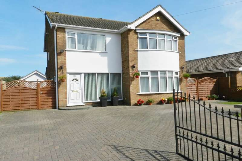 4 Bedrooms Detached House for sale in Hillside Avenue, Sutton-On-Sea, Mablethorpe, LN12
