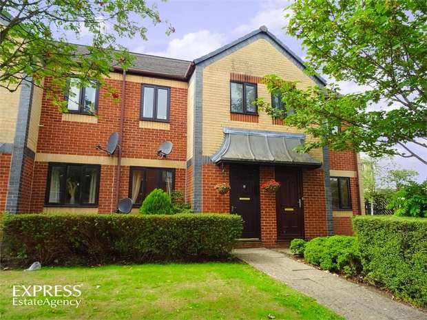 2 Bedrooms Terraced House for sale in Crates Close, Kingswood, Bristol, Gloucestershire