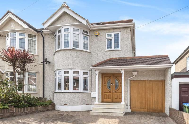 5 Bedrooms Semi Detached House for sale in Felhampton Road, London